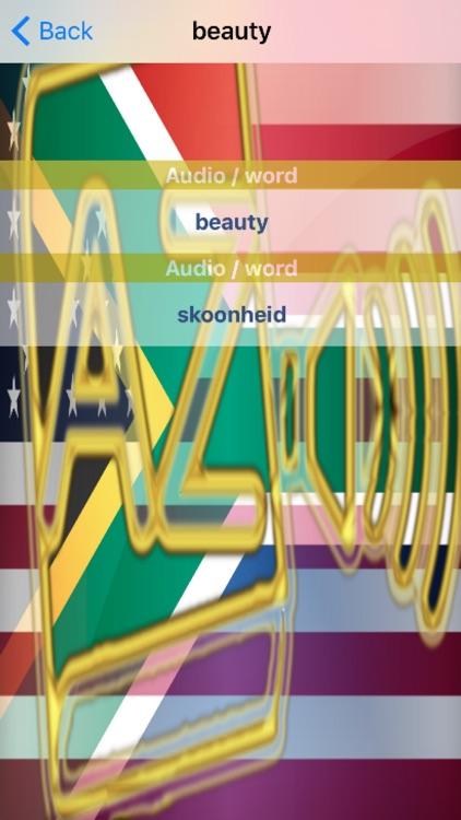 Afrikaans Dictionary GoldEdition screenshot-4