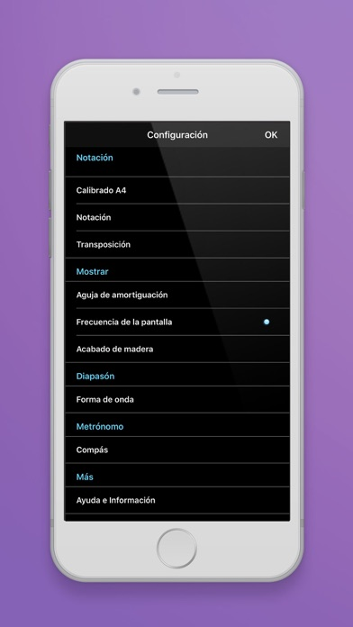 Screenshot for Afinador in Chile App Store