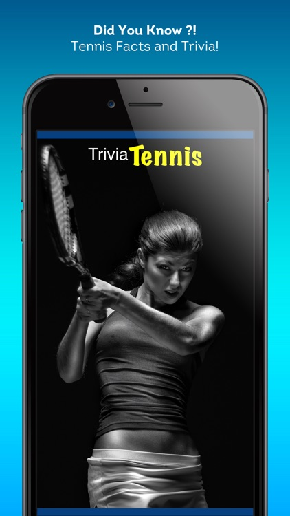 Tennis Trivia - totally interesting tennis facts