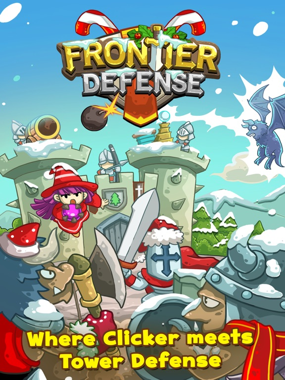 Frontier Defense (2017) на iPad