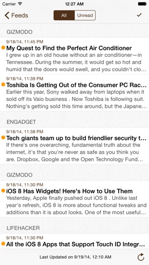 RSS Mobile on the App Store
