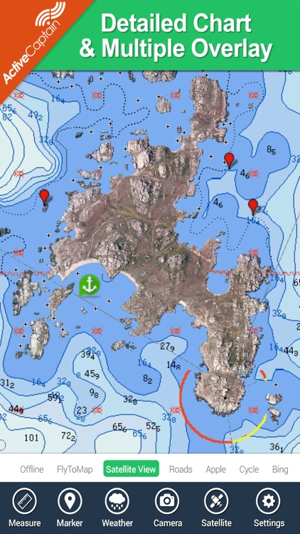 Marine: Aegean Sea (South) HD - GPS Map Navigator