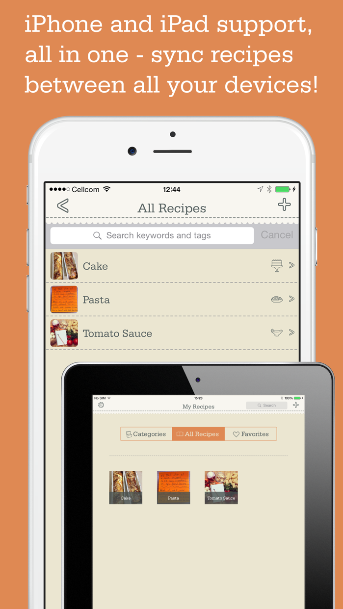 Recipe Organizer by OrganizEat Screenshot