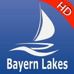 Bavaria lake GPS nautical charts Pro