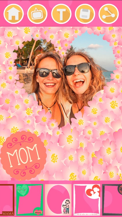New photo frames for mother's day & stickers – Pro screenshot-3