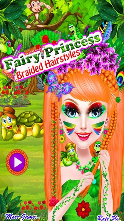 Fairy Princess Braided Hairstyles