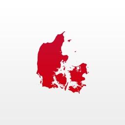 Topo maps Denmark
