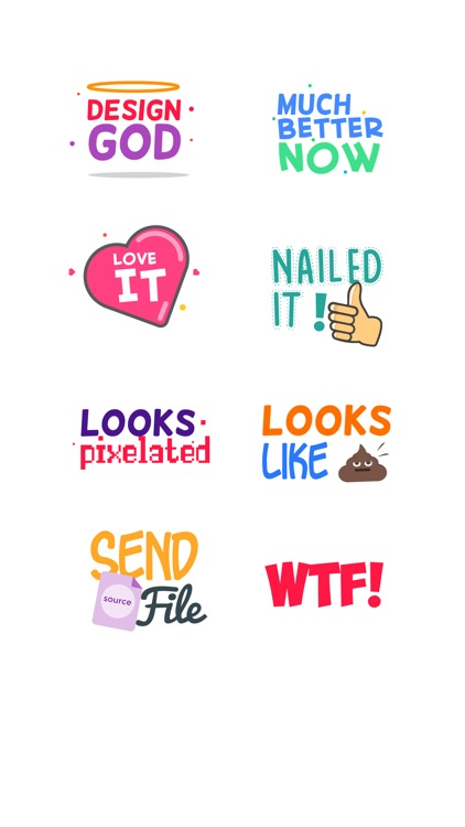 Design Feedback Sticker Pack screenshot-1
