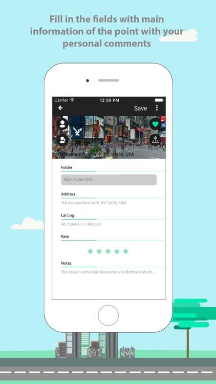 GOAZ: Social app for GPS navigation. Search places screenshot-3