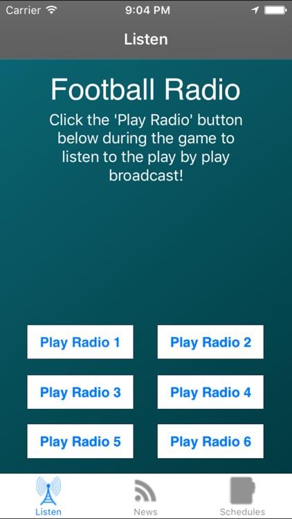 Philadelphia Football - Radio, ScoresSchedule