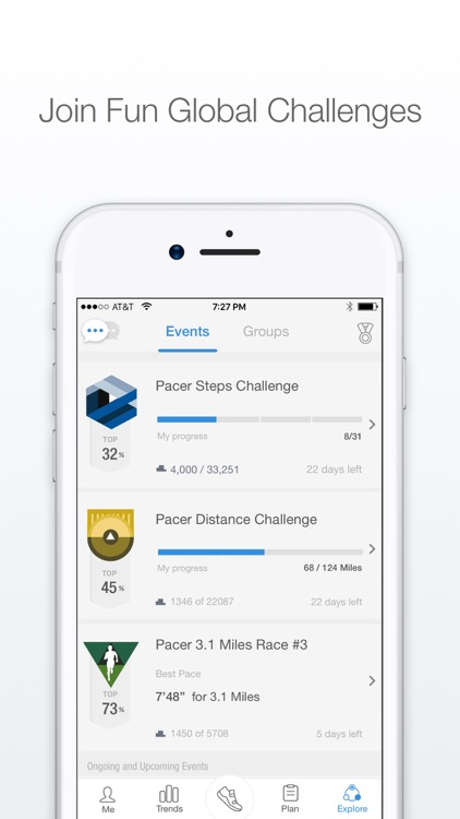 Pacer - Pedometer plus Weight Loss and BMI Tracker screenshot-4