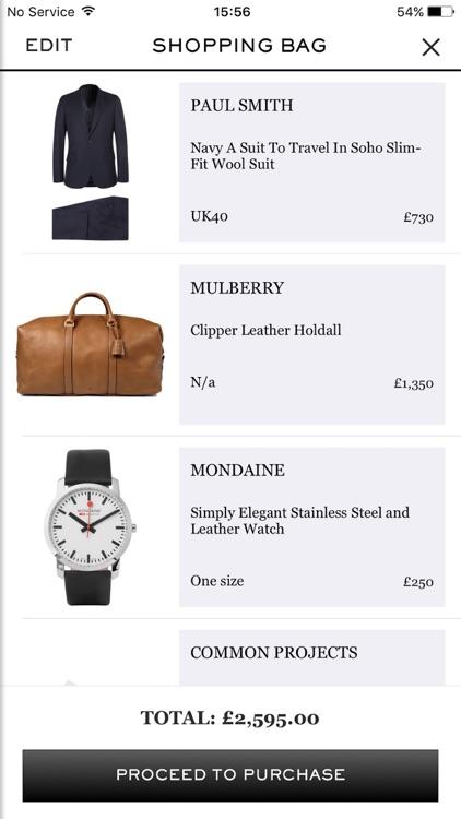 MR PORTER | Men's Luxury Designer Fashion screenshot-4