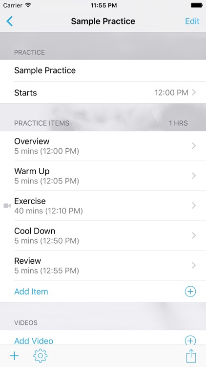 InfiniteFigureSkating Practice Planner screenshot-1
