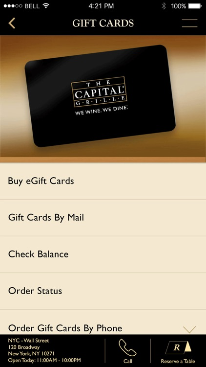 The Capital Grille Concierge screenshot-4