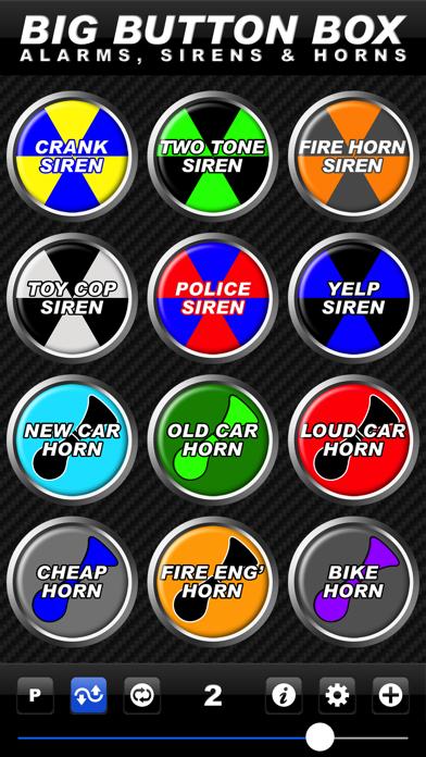 Big Button Box: Alarms, Sirens & Horns - sound fx screenshot two