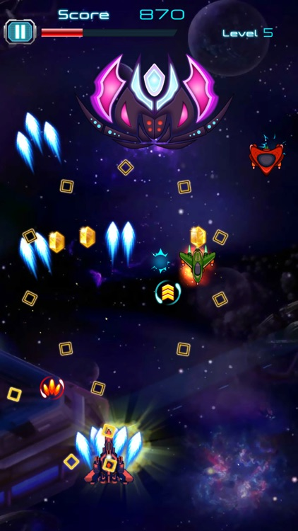 Galaxy Shooter Attack 2018 screenshot-4