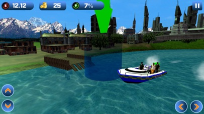 Power Boat Transporter: Police - Pro Screenshot 3
