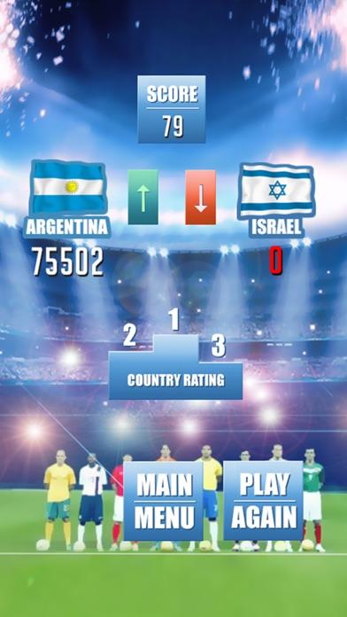 Fußball Freistoß Weltmeisterschaft - Fußball-SpielScreenshot von 5