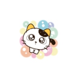 Fun Yellow Ear Cat Stickers