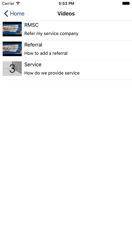 Refer My Service Company screenshot-3