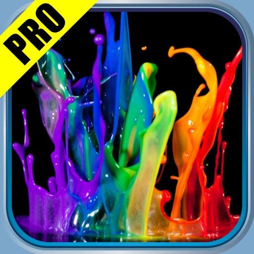 Splish Splash Color Backgrounds Pro