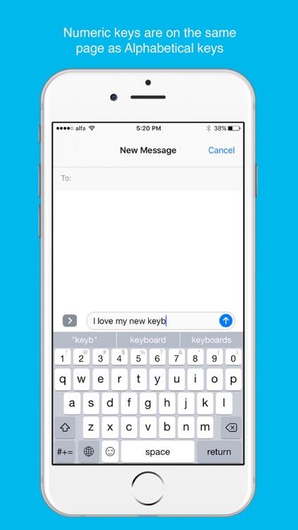 QuicKeyboard - Num & Emojis