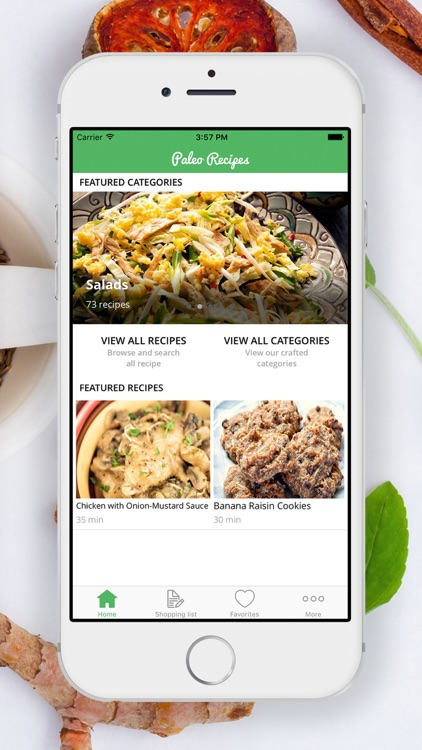 Caveman Feast Paleo Recipes | Shopping List