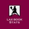 "Lax Book Stats is an iPhone/iPad app to view Men's & Boy's lacrosse game/season stats taken using the ""Lax Book"" iPad app"