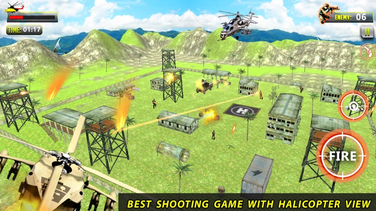 Helicopter Shooter : Warship Battle Attact 3D screenshot-3