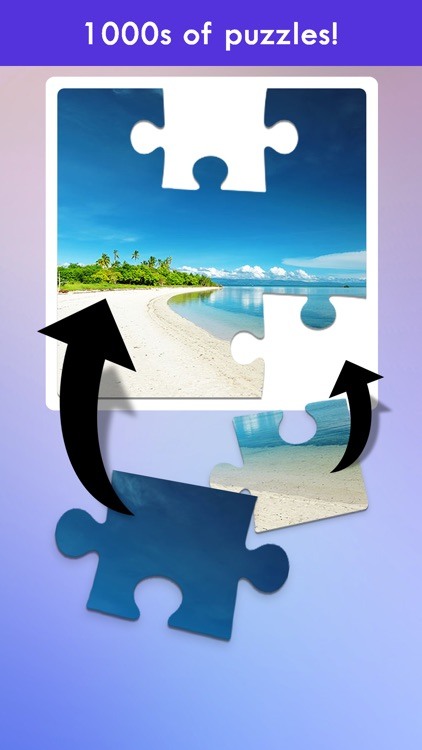 100 PICS Jigsaw Puzzles Game screenshot-1