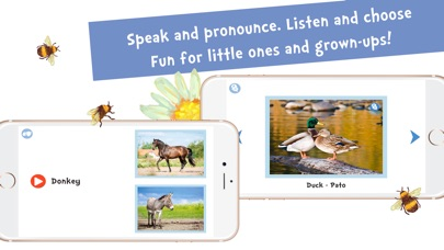 Screenshot #10 for Sami Tiny FlashCards Animals 6 languages kids apps