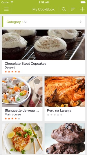 My cookbook recipe manager on the app store screenshots forumfinder Image collections