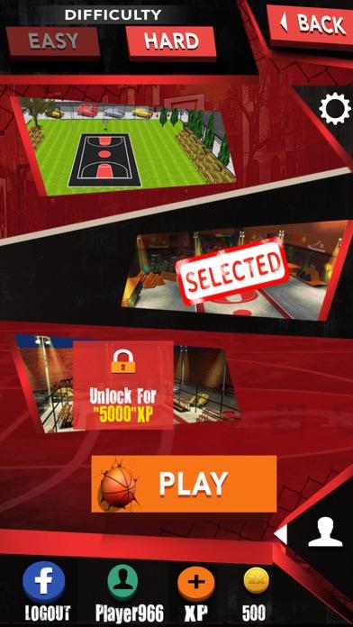 Street basketball-basketball shooting games screenshot two