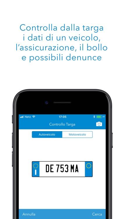 Controllo Targa - Check dati assicurazione e furto screenshot-0