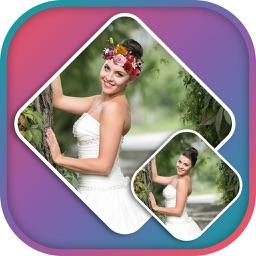 Wedding Flower Crown Photo Editor - Crown Stickers