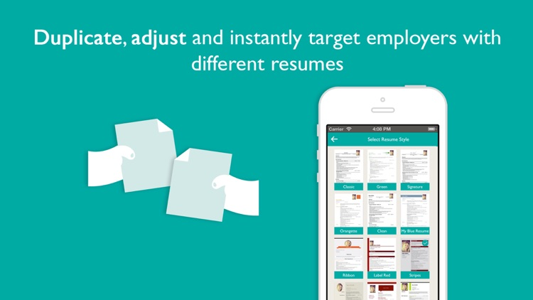 Resume Designer Pro: Produce elegant Resumes screenshot-3