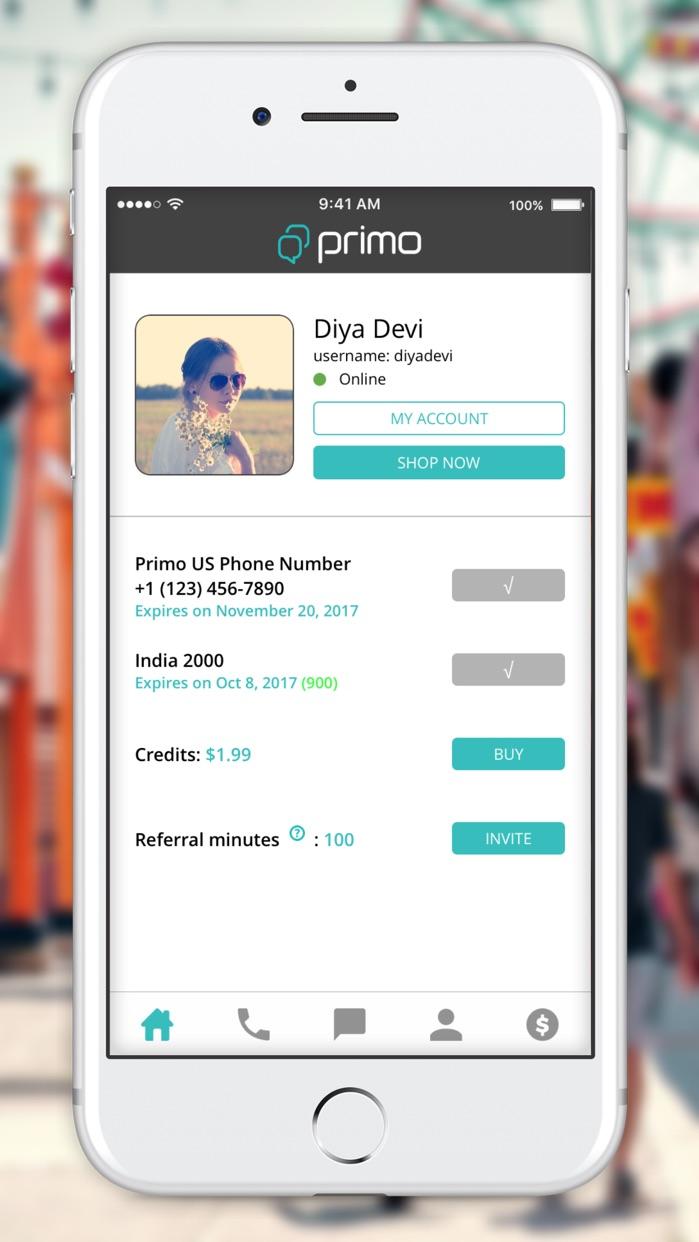 Primo Connect Screenshot