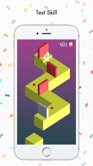Color Balls Zigzag Screenshot