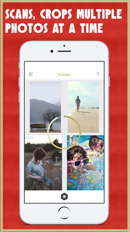 Pic Scanner Gold: Scan photos and picture albums