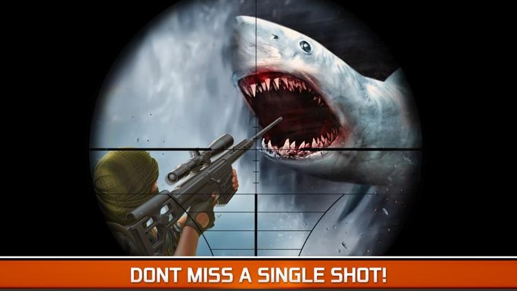 Angry Fish Hunting - Sea Shark Spear-fishing Game