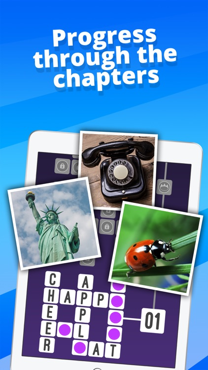 Crossword : One Clue Picture Crosswords screenshot-2