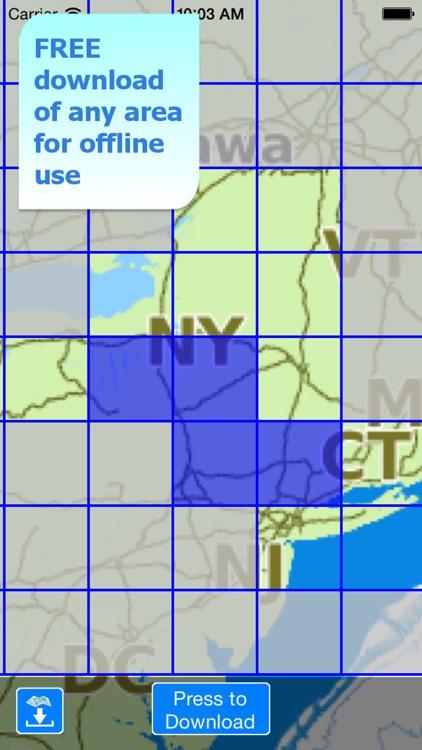 Aqua Map New York NY Lakes HD- GPS Nautical Charts screenshot-4