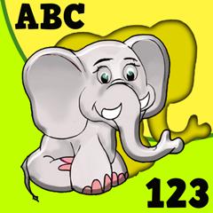 Kids shape puzzle animals alphabet & colors