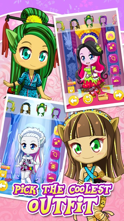 Pony Monster Fashion Dress Up Game for Girls
