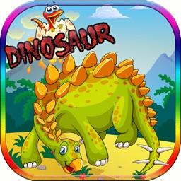 Dinosaur Games Puzzles : Dino Foods Match