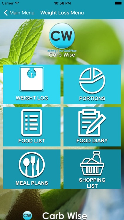 Carb Wise screenshot-2