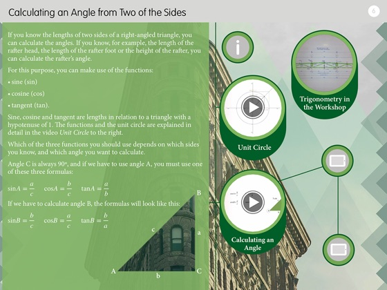 Trigonometry And Architecture Right Angled Triangles
