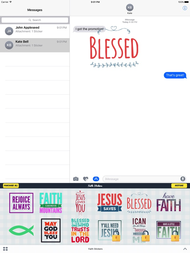 religious sticker apps for android