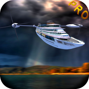 Flying Cruiser Race - Ultimate Air ship 模拟器 app