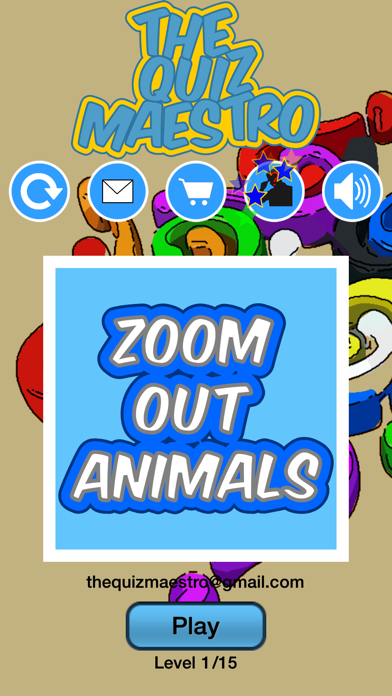 Zoom Out Zoo Pet And Farm Animals Quiz Maestro screenshot one